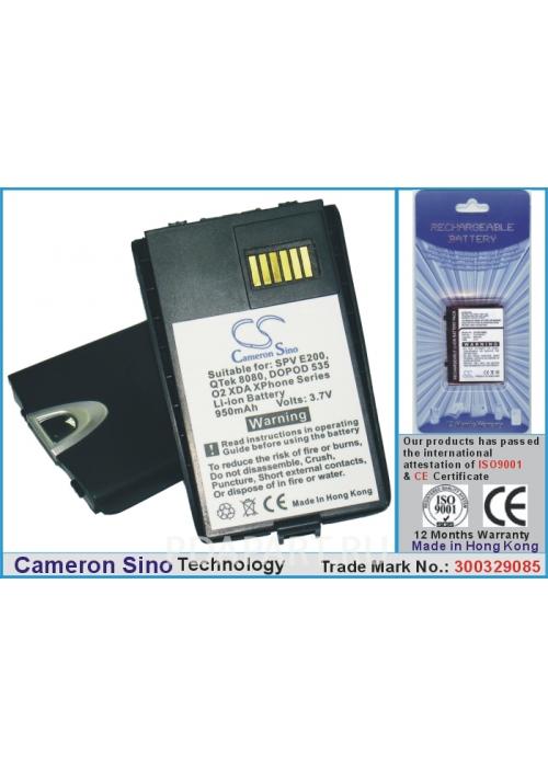 Аккумулятор для Qtek 8060, 8080 950mah CS CameronSino
