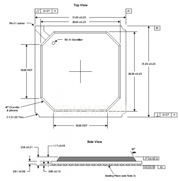 Микросхема Intel FW82801DBM