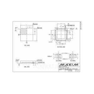 микросхема MAX9755E