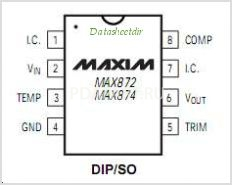 Микросхема MAX872CSA