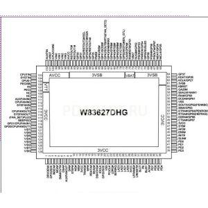 микросхема W83627DHG