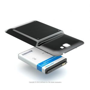 Аккумулятор Samsung Galaxy Note 2 N7100 6200mah Craftmann черный