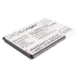 Аккумулятор CameronSino для Samsung Galaxy Note 2, Keneksi Omega (EB595675LU) 3100mah
