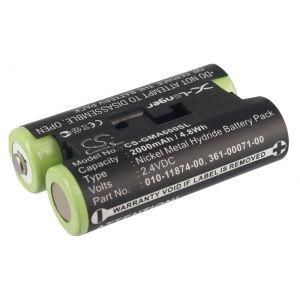 Аккумулятор CameronSino для Garmin GPSMAP 64, 66, Oregon 600, 700 2000mah