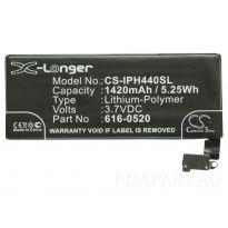аккумулятор Apple iPhone 4 1420mah CS-IPH440SL