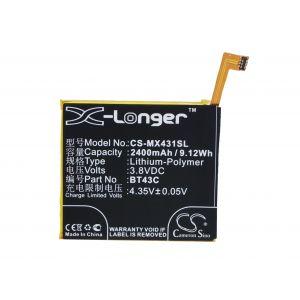 Аккумулятор CameronSino для Meizu M2 Mini 2450mah CS