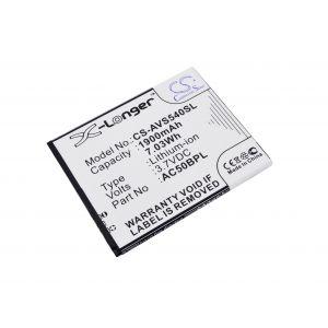 Аккумулятор CameronSino для Archos 50b Platinum 1900mah CS