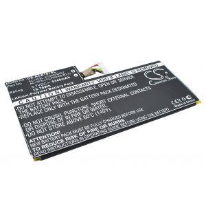 Аккумулятор CameronSino для Acer Iconia Tab W4-820 5340mah