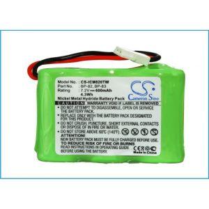 Аккумулятор CameronSino для Icom BP-82, BP-83, BP-84, BP-85 600mah