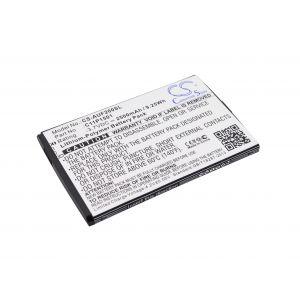 Аккумулятор CameronSino для Asus ZenFone 2 Laser 6.0, Zenfone Selfie 2500mah