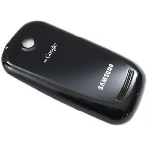Крышка аккумулятора Samsung S3650 Corby черная