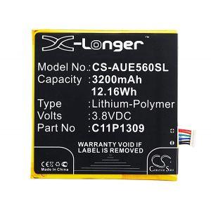 Аккумулятор CameronSino для Asus Fonepad Note 6 3200mah