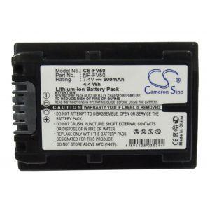 Аккумулятор CameronSino для Sony NP-FV30, NP-FV50, NP-FV70 600mah