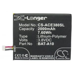 Аккумулятор CameronSino для Acer Liquid E3, Z5 2000mah