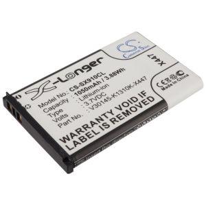 Аккумулятор CameronSino для Siemens Gigaset SL910 1050mah