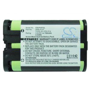 Аккумулятор CameronSino для Panasonic HHR-P107 700mah