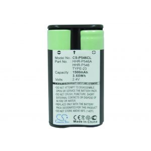 Аккумулятор CameronSino для Panasonic HHR-P546 1500mah