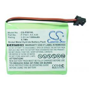 Аккумулятор CameronSino для Panasonic HHR-P505 P-P501 P-P504 P-P508 P-P510 1300mah