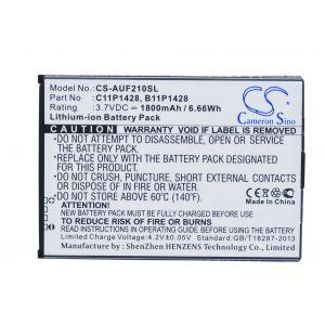 Аккумулятор CameronSino для Asus ZenFone 2 Laser ZE500KL, ZE500KG 1800mah