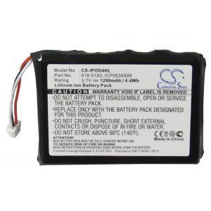 Аккумулятор CameronSino для Apple iPod Photo 1200mah