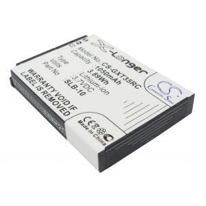 Аккумулятор CameronSino для Trust GXT 35 1050mah