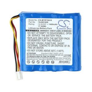 Аккумулятор CameronSino для Moneual MR6500, MR6700, MR6800, MR7700, R750 1400mah