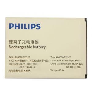 Аккумулятор Philips S616 3000mah