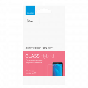 Защитное стекло Hybrid для Sony Xperia XA