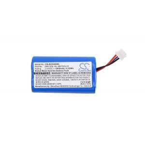 Аккумулятор CameronSino для Bosch LBB4540, Shure DR 6004, 6008, 60032 1800mah