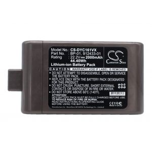 Аккумулятор Pitatel для Dyson DC12, DC16 2000mah