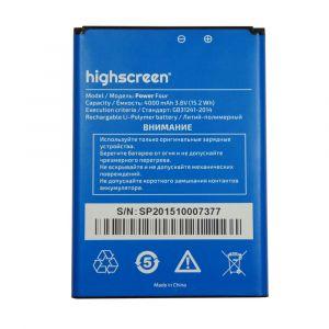 Аккумулятор Highscreen Power Four 4000mah