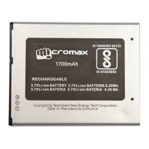 Аккумулятор Micromax Q346, Q346 Lite 1700mah