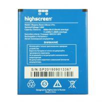 Аккумулятор Highscreen Boost III 3000mah