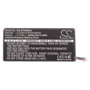 Аккумулятор CameronSino для ZTE T98, V9S Light Tab 3 4000mah