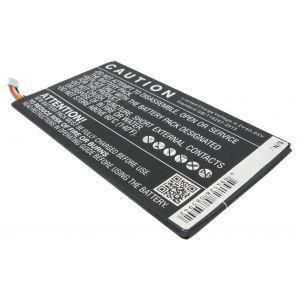 Аккумулятор CameronSino для Dell Venue 7, Venue 8 4100mah