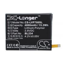 Аккумулятор Lenovo A5000, P70, VIBE P1m 4000mah CS