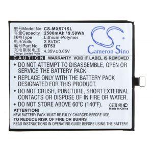 Аккумулятор CameronSino для Meizu Pro 6 2500mah