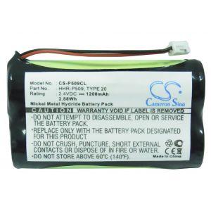 Аккумулятор CameronSino для Panasonic HHR-P509, BP-T23, BP-T93 1200mah