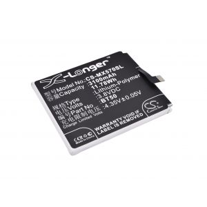 Аккумулятор CameronSino для Meizu Metal 3100mah