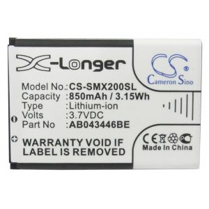 Аккумулятор CameronSino для Samsung AB043446BE, AB463446BU, AB553446BU 850mah