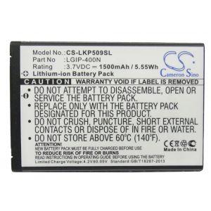 Аккумулятор CameronSino для LG LGIP-400N 1500mah