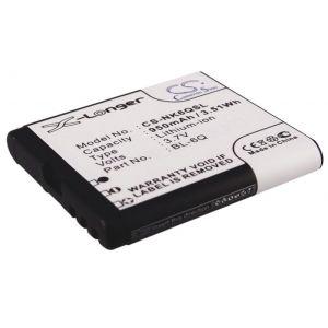 Аккумулятор CameronSino для Nokia BL-6Q 950mah