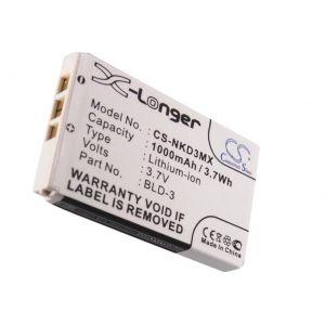Аккумулятор CameronSino для Nokia BLD-3 1000mah