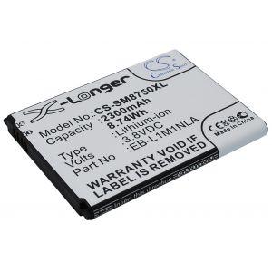Аккумулятор CameronSino для Samsung Ativ S i8750 (EB-L1M1NLA) 2300mah