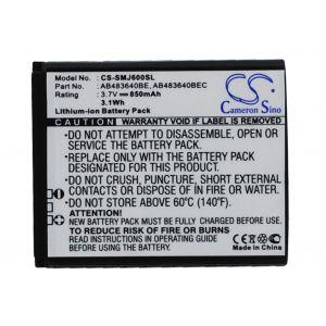 Аккумулятор CameronSino для Samsung AB483640BE, AB483640BU, AB533640BE 850mah