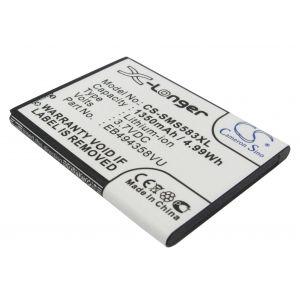 Аккумулятор CameronSino для Samsung Galaxy Ace S5830, Galaxy Pro, Wave M (EB494358VU) 1350mah