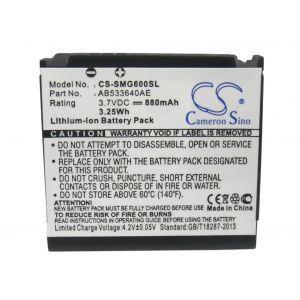Аккумулятор CameronSino для Samsung AB533640AE, AB533640CU 880mah