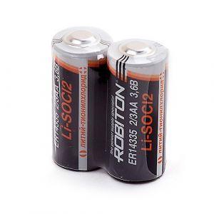 Батарейка Robiton ER14335 2/3AA 1600mah 1шт