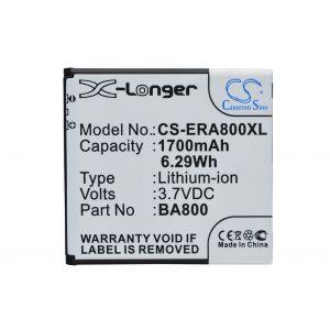 Аккумулятор CameronSino для Sony Xperia Arc HD, S, SL, V BA800 1700mah