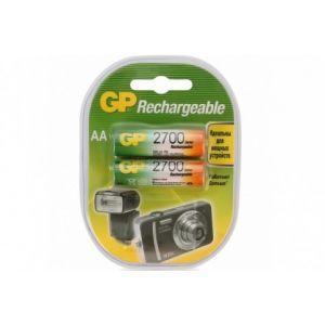 Аккумуляторы GP AA 2700mah 270AAHC 2шт